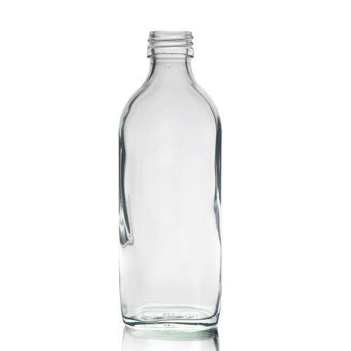 200ml glass flask bottle