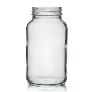 250ml Clear Pharmapac Jar