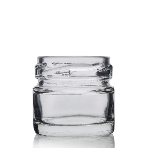 30ml Glass Jam Jar