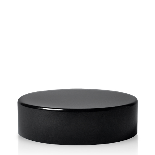 38mm Black Side Ointment Jar Lids