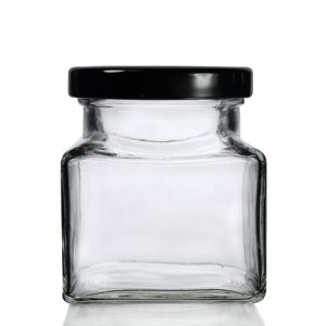 282ml Square Jar with Twist Lid