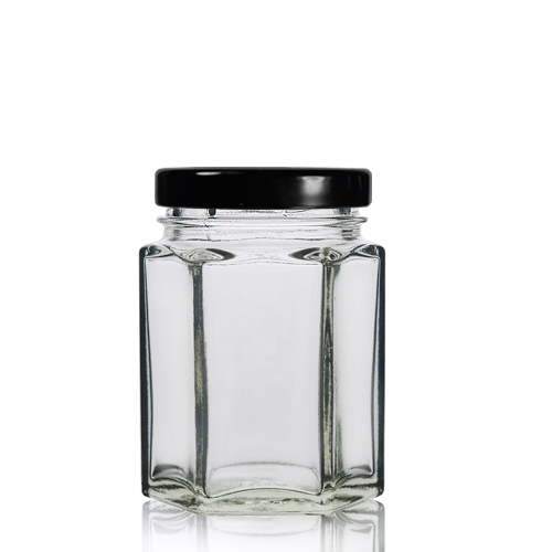 55ml Hexagonal Jar with twist lid