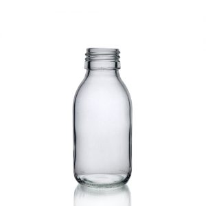 100ml Clear Glass Sirop Bottle