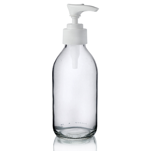200ml Sirop Bottle with Standard Lotion Pump