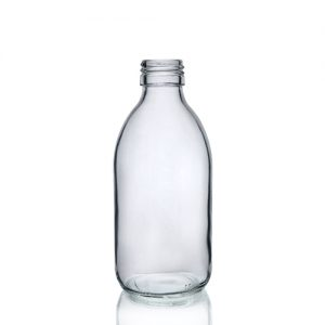 250ml Clear Sirop Bottle