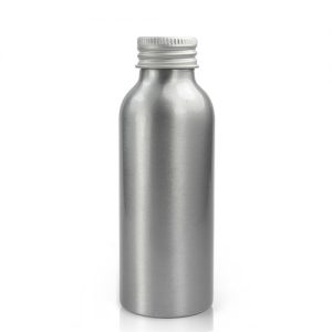 100ml Aluminium Bottle With Aluminium Cap