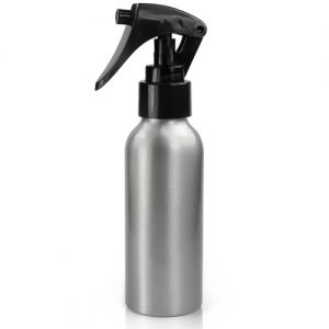 100ml Aluminium Bottle with mini trigger