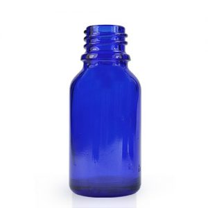 15ml Cobalt Blue Glass Dropper Bottle