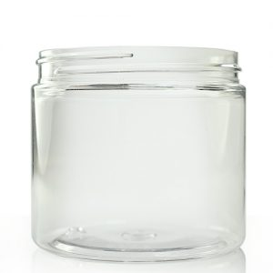 200ml Clear Plastic Jar