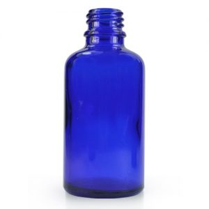 30ml Blue Glass Dropper Bottle