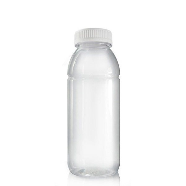 330ml Plastic Juice Bottle & 38mm T/E Screw Cap