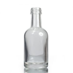50ml Miniature Glass Derby Bottle