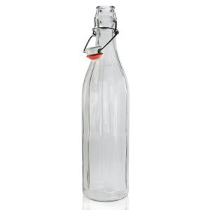 750ml Glass swing top bottle