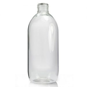 500ml clear plastic bottle