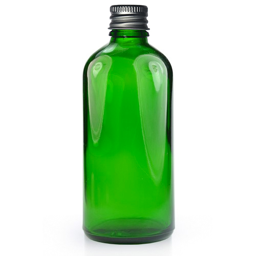 100ml green dropper bottle