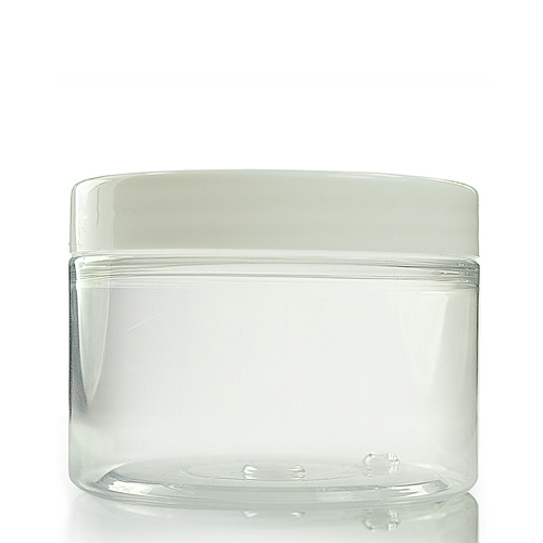 150ml Wide Neck Jar with White Lid