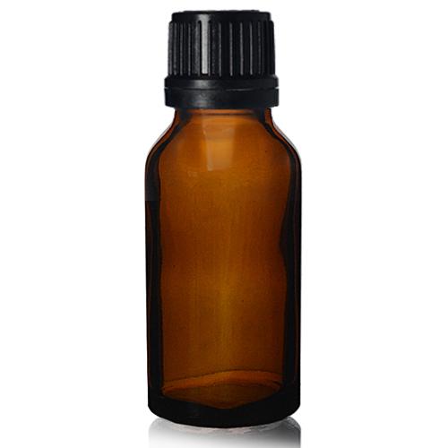 20ml Amber Dropper Bottle With Dropper Cap