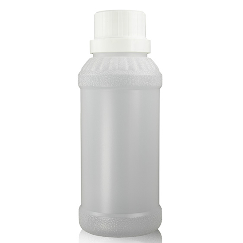 250ml Natural Juice Bottle with White Lid