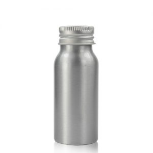50ml Aluminium Bottle with Ali Cap