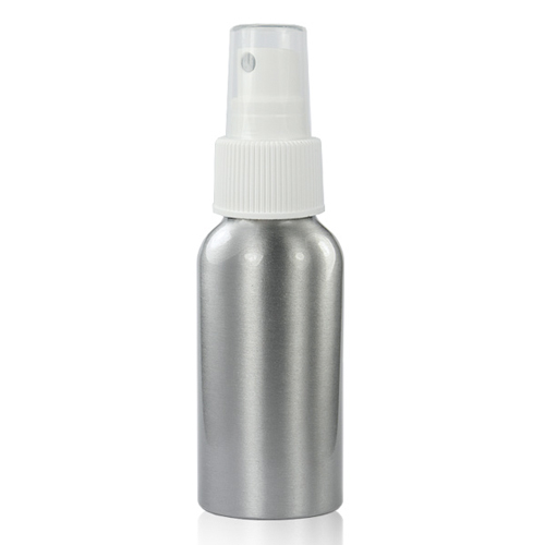 50ml Aluminium Bottle With Atomiser Spray