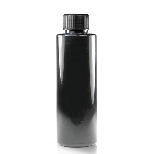 150ml Black bottle with black cap