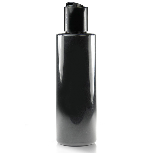150ml Black bottle with disc cap