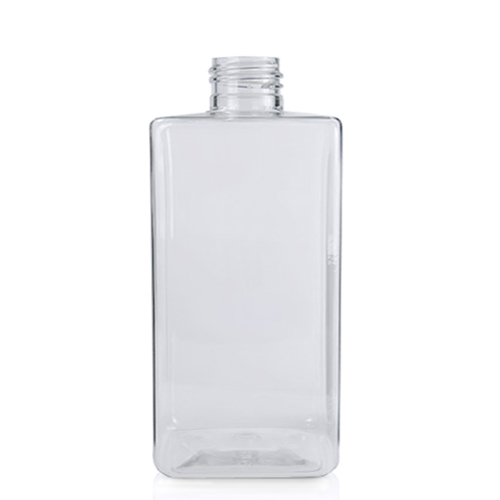 300ml Short Square PET Bottle