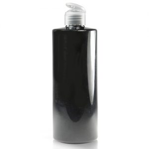 500ml Black Bottle NAT CAP
