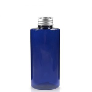 50ml Blue Bottle with aluminium