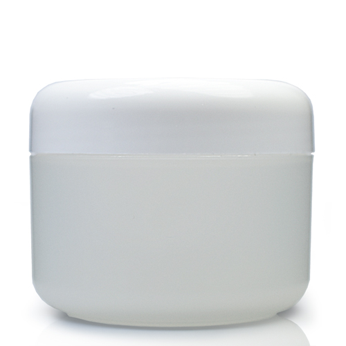 100ml Natural Cosmetic Jar With Lid