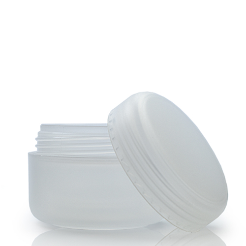 15ml Natural Cosmetic Jar With Lid