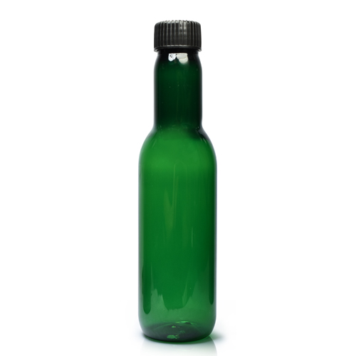 187ml Plastic Wine Bottle With Plastic Cap
