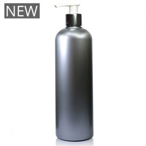 500ml Silver Plastic Bottle With Pump